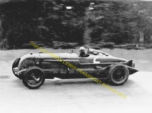 Bentley Birkin Blower At Speed Brooklands C.1932. Photo (b)